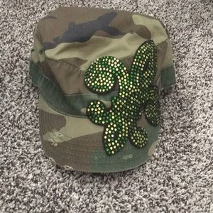 Embellished Military Hat